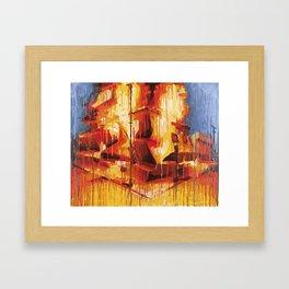 DAIMriots Framed Art Print