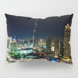 Dubai By Night Pillow Sham