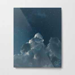 Like Ocean Depths Metal Print