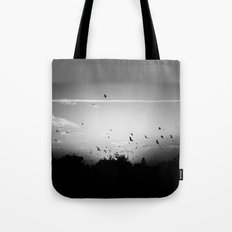 Migrating birds #02 Tote Bag