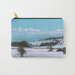 Picturesque winter Carry-All Pouch