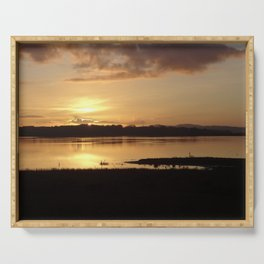 Inch Sunset Serving Tray