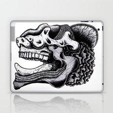 Illustration of a Ghost Laptop & iPad Skin