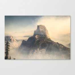 HALF DOME / STATUS POST FIRE Canvas Print