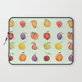 fruit collection watercolor Laptop Sleeve