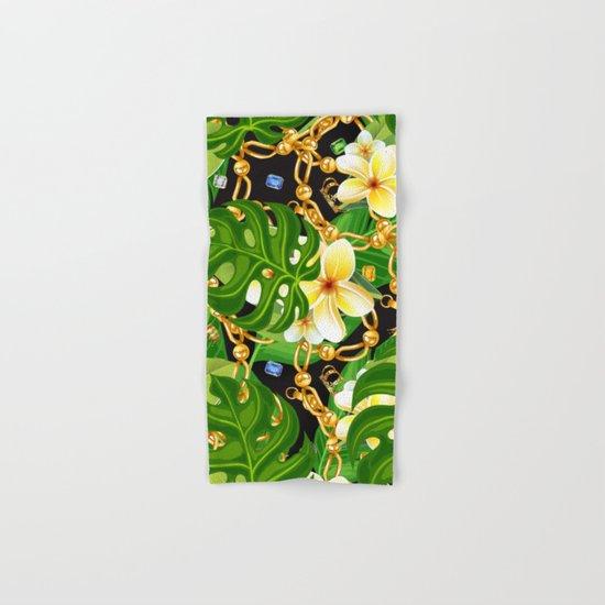 tropical elegant  Hand & Bath Towel
