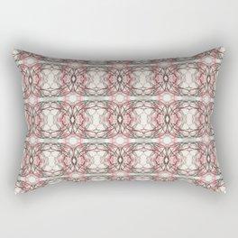 Pink Lace Rectangular Pillow