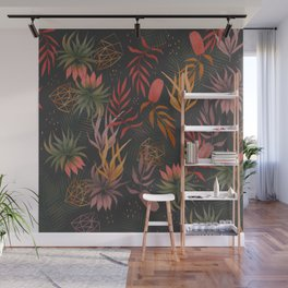Magical garden pattern Wall Mural
