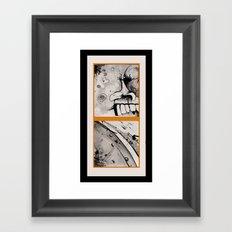 DEUCE Framed Art Print