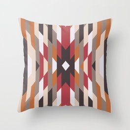American Native Pattern No. 23 Throw Pillow
