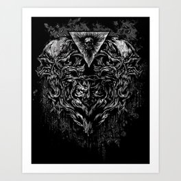 Merged Art Print