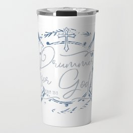 Drummer for God Travel Mug