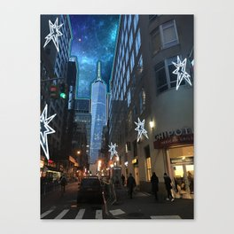 Twilight District Canvas Print