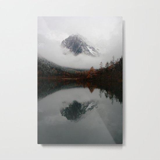 Beautiful Mountain # reflection Metal Print