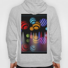 colors, spotlights and reflections Hoody