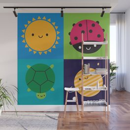 Happy Nature Wall Mural