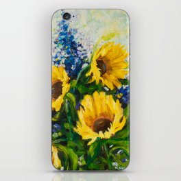 Sunflowers Oil Painting iPhone Skin