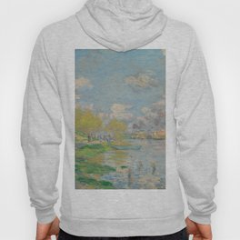 Claude Monet: Spring by the Seine, 1875 Hoody