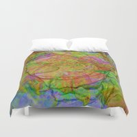 reassurance Duvet Covers featuring Flower IV by Magdalena Hristova