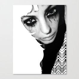 Crazy Eyez Canvas Print