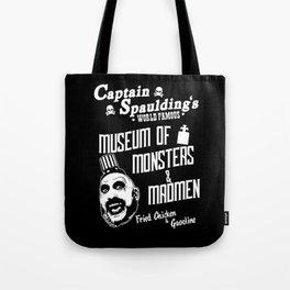 Captain Spaulding museum v2 Tote Bag