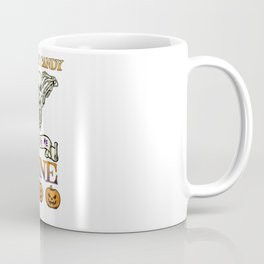 Halloween Costume Forget Candy Just Give Me Wine Gift Coffee Mug