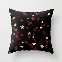 The night sky. Stars Throw Pillow