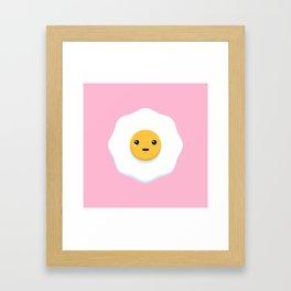 Sad Egg Framed Art Print
