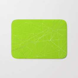 LIGHT LINES ENSEMBLE VII GREEN Bath Mat
