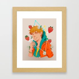 Berry Garden Framed Art Print
