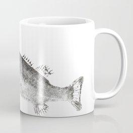 Largemouth chasing sunfish Coffee Mug