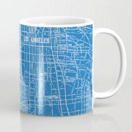 Los Angeles Street Map Coffee Mug