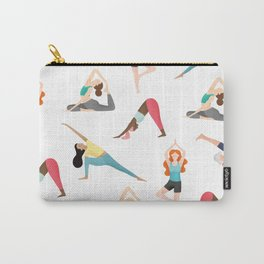 Yoga Pattern Carry-All Pouch