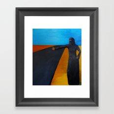 Women & Freedom Framed Art Print