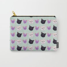 Moon Cat Trio Carry-All Pouch