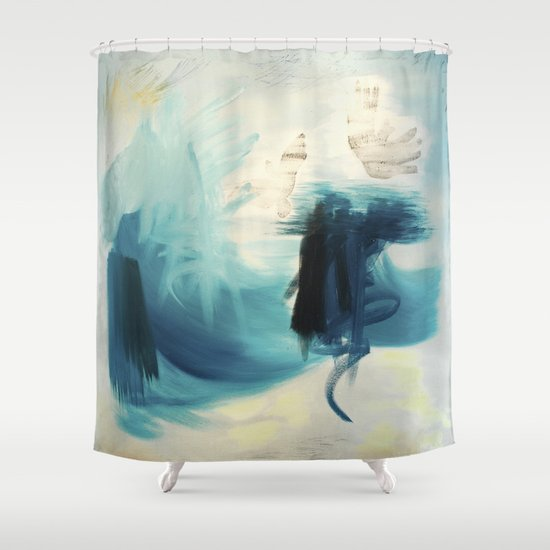 Cobalt Sea Shower Curtain