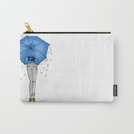 12th Man Umbrella // Fashion Print Carry-All Pouch