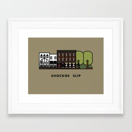 Shockoe Slip Framed Art Print