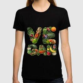 Vegan And Vegetarian Symbol T-shirt