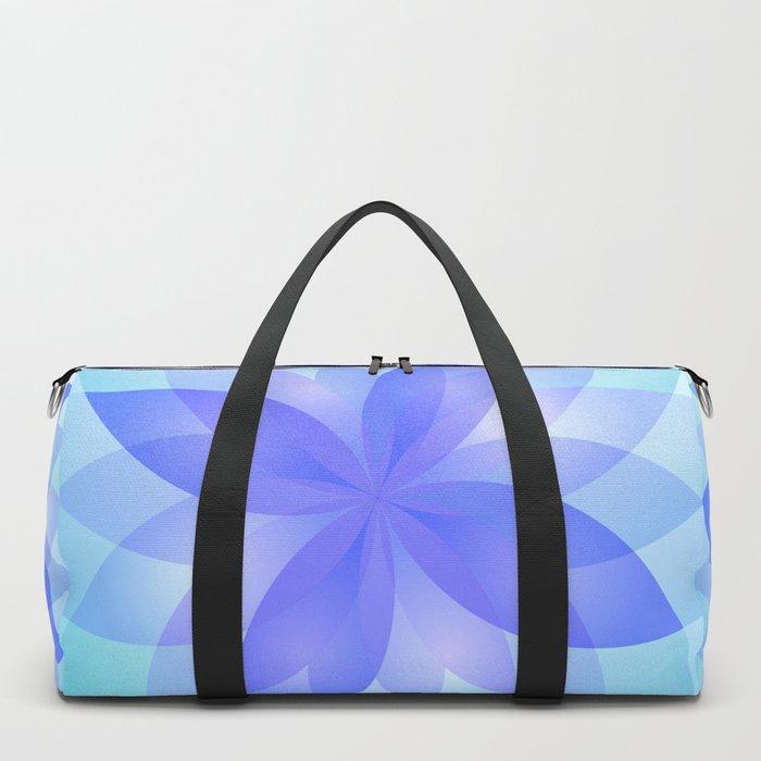 Abstract Lotus Flower G303 Duffle Bag