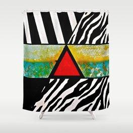 Bermuda Triangle Shower Curtain
