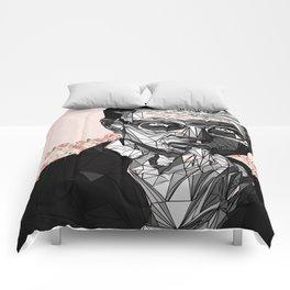 Blooming Jeff Goldblum Comforters