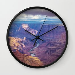 Grand Canyon and the Colorado River Wall Clock