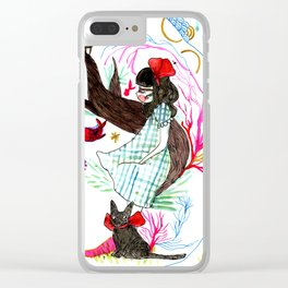 Witch in the forest Clear iPhone Case
