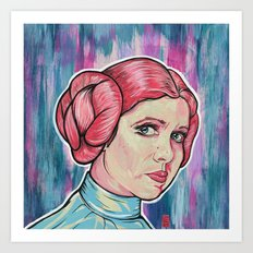 Rebel Princess Art Print