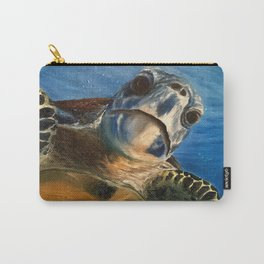 Nosey Turtle Carry-All Pouch