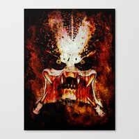 predator Canvas Prints featuring Predator by Sirenphotos
