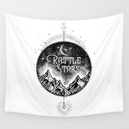 Rattle The Stars BW Wall Tapestry