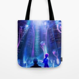 Ready Player One inspired | Painting Poster | CLUB SCENE | PRINTS | #M47 Tote Bag