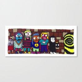 Adventure Team! Canvas Print